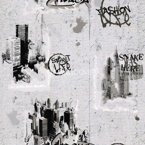 684011 Boys & Girls 3 AS-Creation-tapete