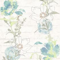 328001 Urban Flowers AS-Creation Papiertapete