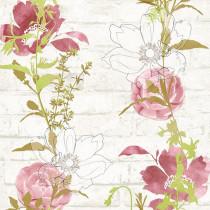 328004 Urban Flowers AS-Creation Papiertapete