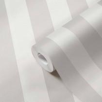 384911 Tapete Streifen Blockstreifen Grau Weiß