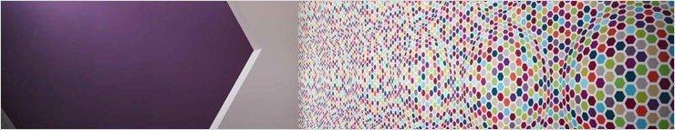 Papel pintado con patrones