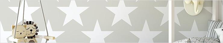 Papel pintado con estrellas