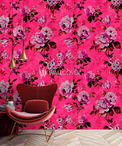 113907 Walls by Patel 2 Wild Roses