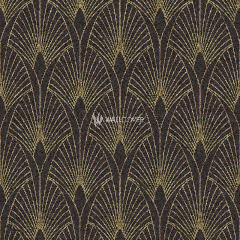 Livingwalls 37427-3 Papel pintado Color negro