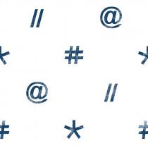 111037 Hashtag Rasch-Textil