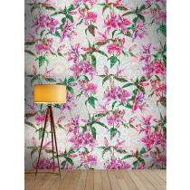 DD110216 Walls by Patel Mosaic Lilies
