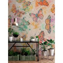 DD110266 Walls by Patel Mosaic Butterflies