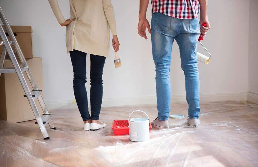 Empapelar o pintar - ¿Qué es más trabajoso?
