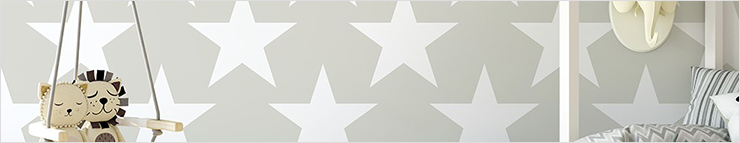 Papier peint à étoiles