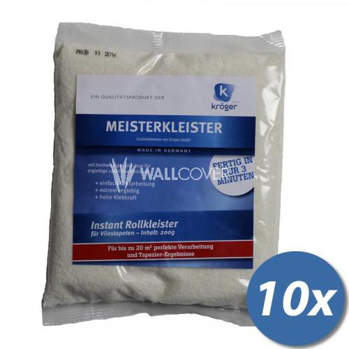 200 g Meisterkleister für Vliestapeten 10er Pack
