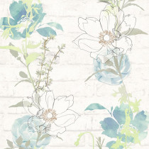 328001 Urban Flowers AS-Creation Papiertapete