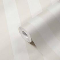 384928 Papier peint rayé bande rayures beige blanc