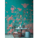 DD110956 Walls by Patel Flamingo
