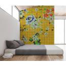 113822 Walls by Patel 2 Flower Plaid