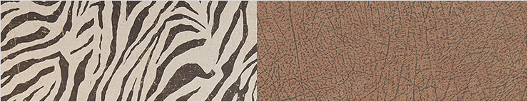Animal Print & Leather Look Wallpaper