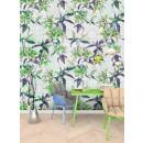 DD110221 Walls by Patel Mosaic Lilies
