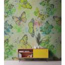DD110271 Walls by Patel Mosaic Butterflies