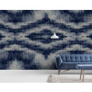 DD110791 Walls by Patel Indigo Canvas