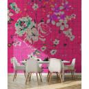 113827 Walls by Patel 2 Flower Plaid