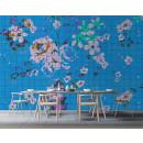 113832 Walls by Patel 2 Flower Plaid
