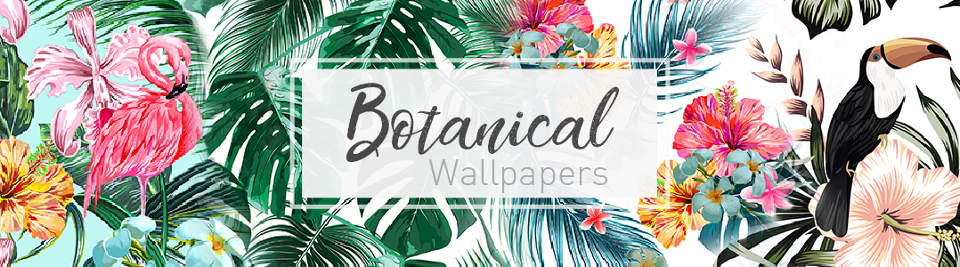 Botanical wallpaper