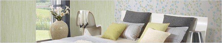 Behang voor slaapkamers
