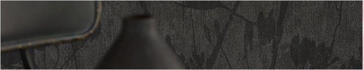 Zwart behang