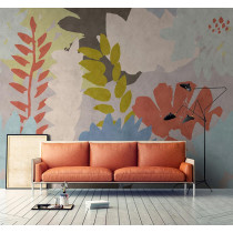 114132 Walls by Patel 2 Floral Collage